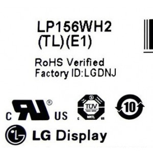 "LG PHILIPS 15.6"" WXGA LCD SCREEN LP156WH2 (TL)(E1)"